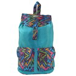 Blue 274 Bleu Colorful Lightweight Girls Backpack
