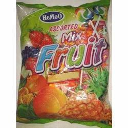 Hemoo Multicolor Mix Fruit Lollipop, Packaging Type: Plastic, Pack Size: 50s And 100s