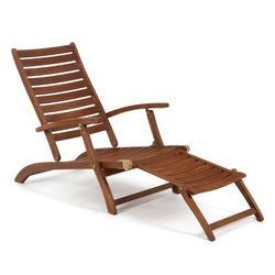 Diamond 400 X 430 X 910 Mm Wooden Deck Chair