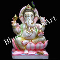 Decorative Marble Ganesh Statue