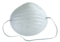 Non-Woven White Dust Mask, For Traffic Police, Available In Medium, Large