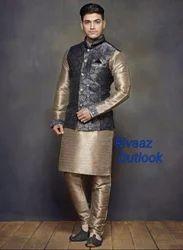 Silk Mens Koti Suit