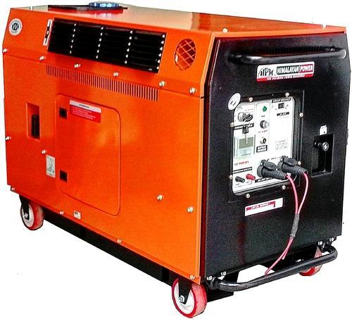 Silent Portable Petrol Generator Silent Portable Generator 4 5 Kva Manufacturer From New Delhi