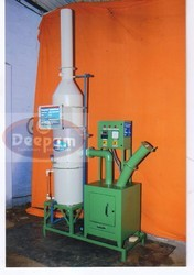 Sanitary Napkin Burner With Pollution Control Equipment
