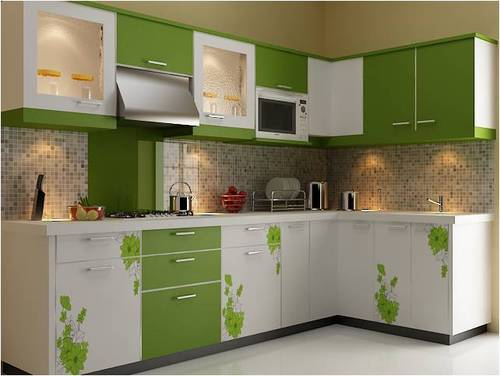 U Shape Wooden U Shaped Modular Kitchen Rs 150000 Piece