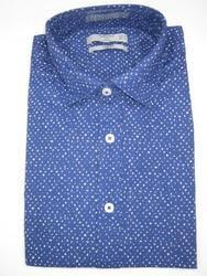 Punit Polyfab Cotton Mens Designer Shirts, Packaging Type: Packet