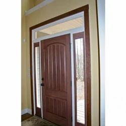Brown Wooden Home Door
