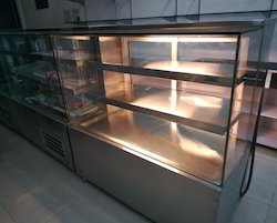 Electric Straight Glass Display Counter