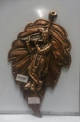 Leaf Krishna Wall Hanging