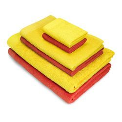 Colored Bath Towel Set