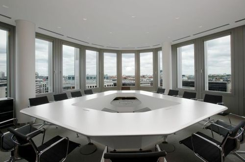 Solid Surface Conference Table At Rs Square Feet Conference - Corian conference table