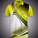 Printed Polyester Sports T Shirt For Men And Women, Age Group: 20 - 40