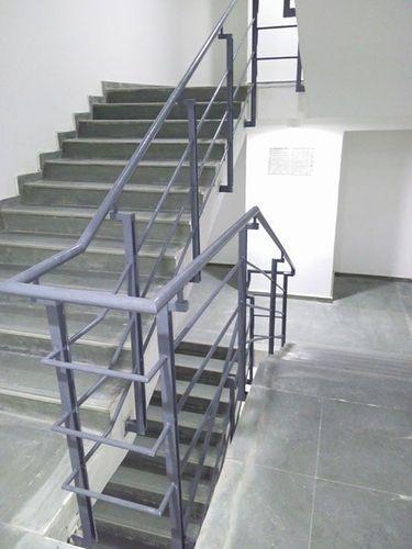 Mild Steel Handrail Ms Handrail माइल्ड स्टील हैंडरेल