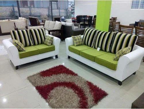 Wooden 3 2 Seater Sofa Set