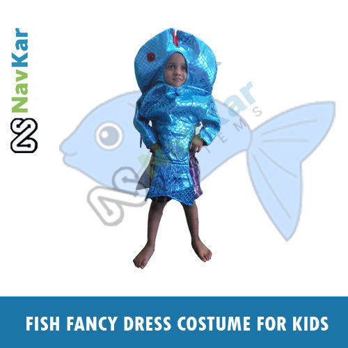 adcc332b822 Fish Fancy Costume Outfit Suit Fancy Dress for Kids Animal