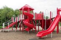 Park Kid Play Slide Stations