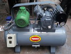 5 Hp Double Piston Air Compressor Machine