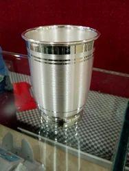 Designer Silver Glass