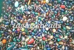 Mix Lustre Glass Beads