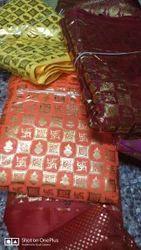 44-45 Foil Print Fabric