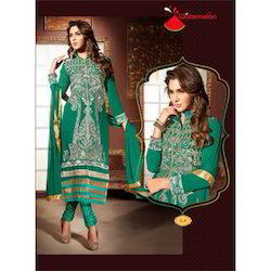 Kesa Of Water Melon Salwar Kameez