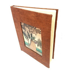 Brown Polished Diary