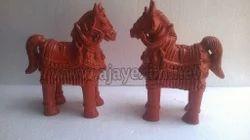 Terracotta Garden Decorative Horse