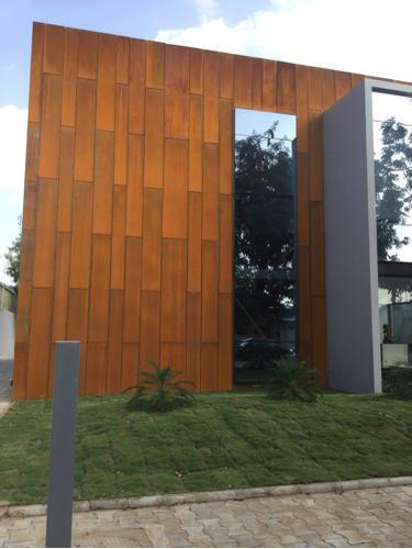 Designer Corten Steel Design Construction Rs 450 Square