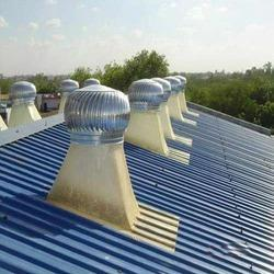 Stainless Steel Turbo Ventilators for Power Houses & Lift Rooms