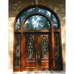 Designer Front Doors   Stained Glass Wood Door Manufacturer From Hyderabad Part 43
