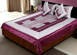 Silk Bedcover Cushion n Pillow Cover 378