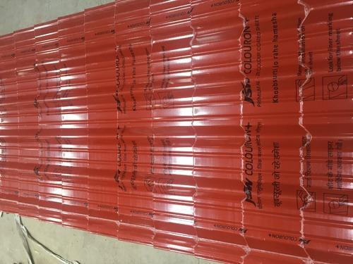 Tile Profile Sheet Jsw Colouron At Rs 295 Square Meter S