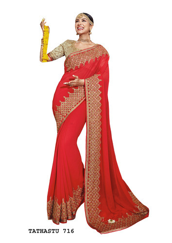 d5628c1de Georgette Sarees - Ethnic Sarees Exporter from New Delhi