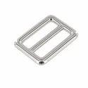 Silver Double Loop Belt Sliders