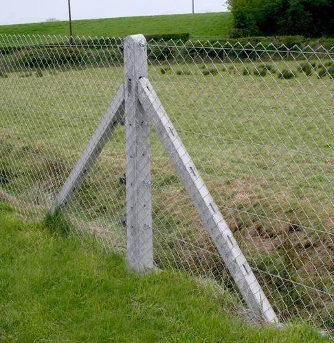 Cement Fencing Poles Rcc Fencing Pole Manufacturer From