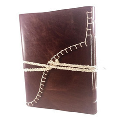 Thread Leather Diary