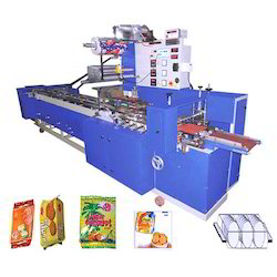 Family Pack Biscuit Horizontal Flow Wrap Machine