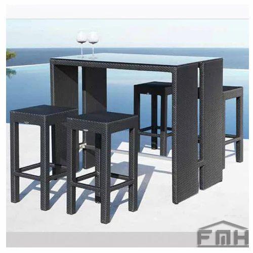 Outdoor Furniture   Wicker Bar Set   Los Angeles