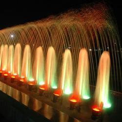 Sandstone Brown Colorful Water Fountain
