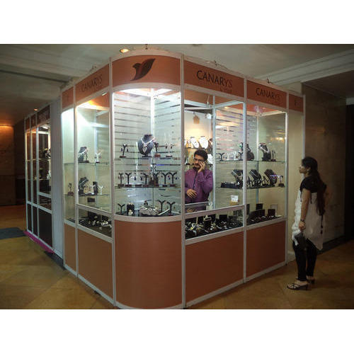 Jewelry Exhibition Stand Design : Jewellery exhibition stand at rs 50000 onwards प्रदर्शनी
