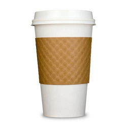 Glass White Coffee Paper Cups