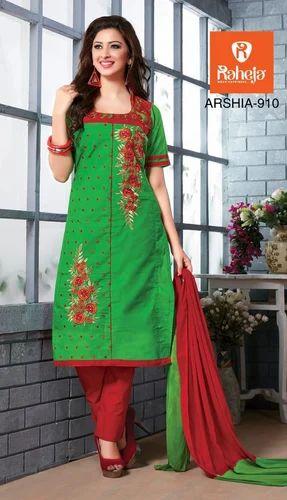 8d45ffa2e Fancy Design Ladies Suit With Chiffon Dupatta at Rs 395  piece ...