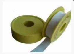 White, Transparent Teflon Tape