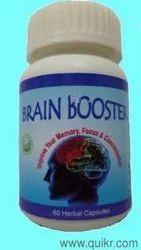 Capsule Brain Booster, Packaging Size: 500mg, Packaging Type: Capsul