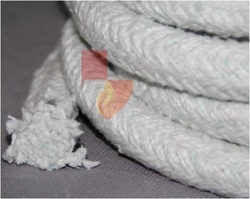 Ceramic White Braided Rope, Diameter: 3 to 150 mm