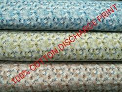 Cotton Discharge Printed Fabric