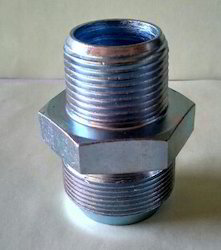 Stainless Steel Male SS Threaded Connector, For Structure Pipe