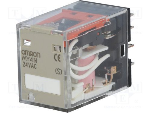 Omron Relay My4n  24v  Rs 1   Piece  Jrm Solution