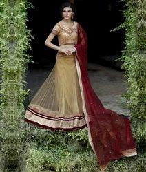 Bridal Net Lehenga Choli