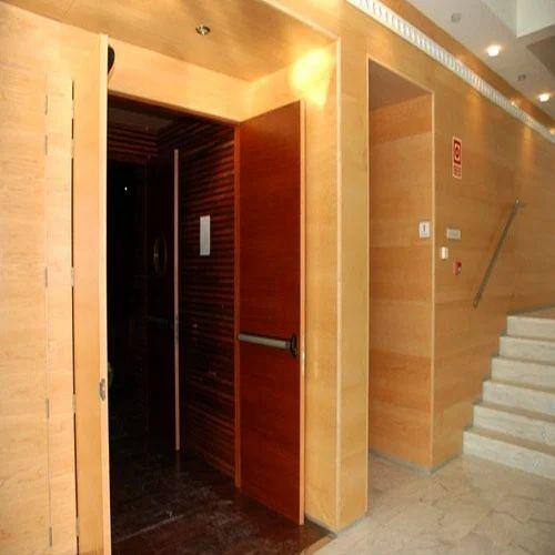 Wooden Acoustic Door & Wooden Acoustic Door at Rs 7500 /square meter   Fire Doors - H. S. ...